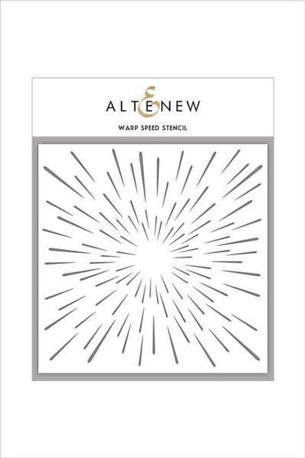 """Altenew Stencil Warp Speed 6 x 6"""""""