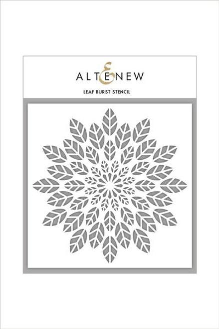 Altenew Stencil Leaf Burst