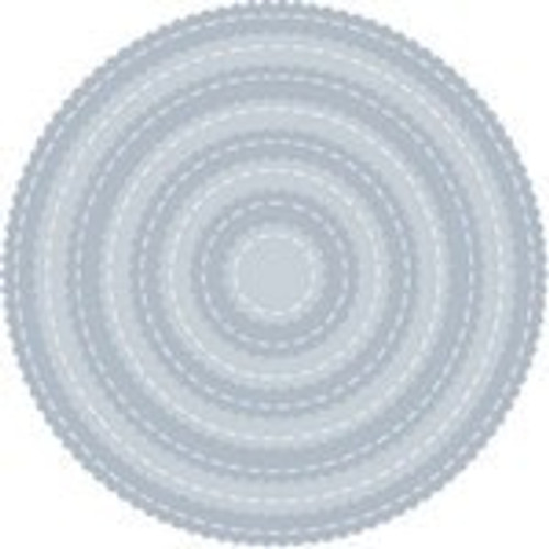 Tutti Designs die Scalloped Stitched Nesting Circles