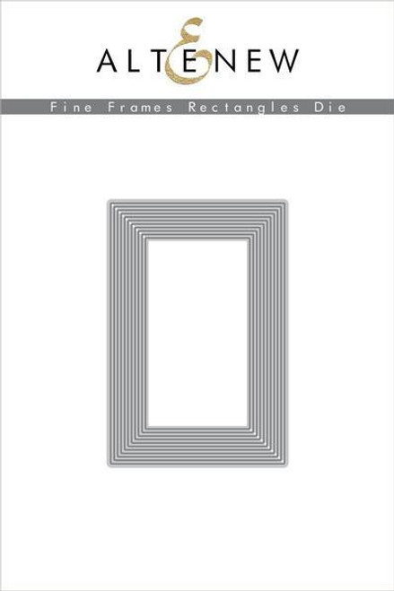 Altenew Fine Frames Rectangles Die Set