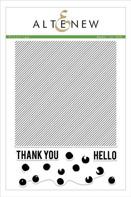 Altnew Pinstripe stamp set