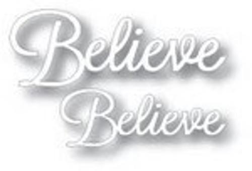 Tutti Designs die Word Set Believe