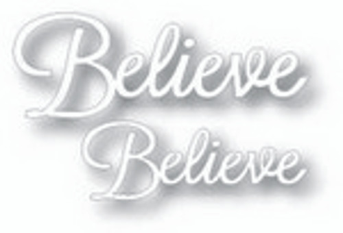 Tutti Designs die Word Set Believe