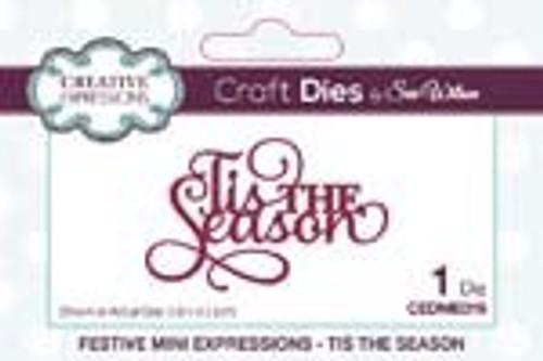 Creative Expressions Dies Mini Expressions Tis the Season
