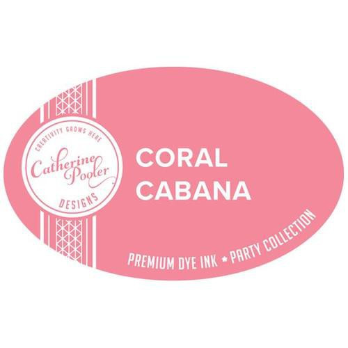 Catherine Pooler Premium Dye Ink Party Collection Coral Cabana