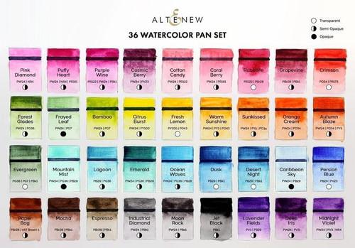 Altenew watercolor paints