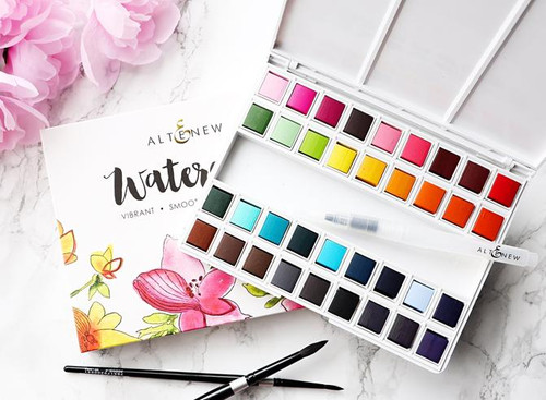 Altenew watercolor paints