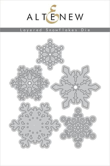 Altenew Layered Snowflakes Die set
