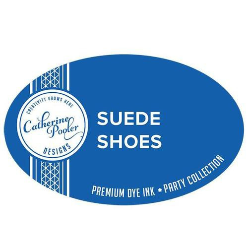 Catherine Pooler Dye Ink Suede Shoes Party Collection