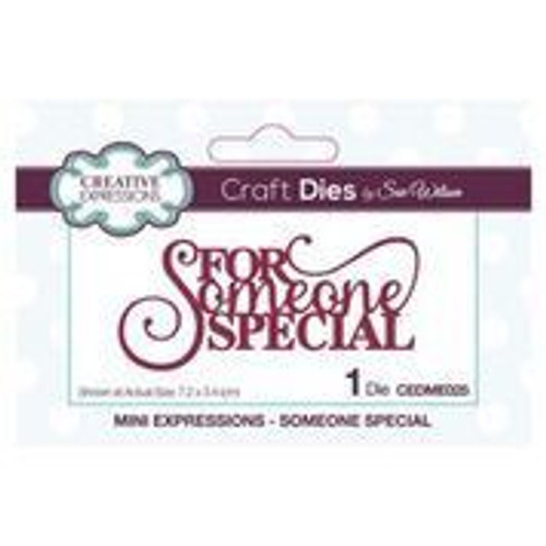 Creative Expressions Dies Mini Expressions For Someone Special