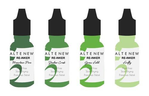 Altenew Dye Reinker Set Green Valley