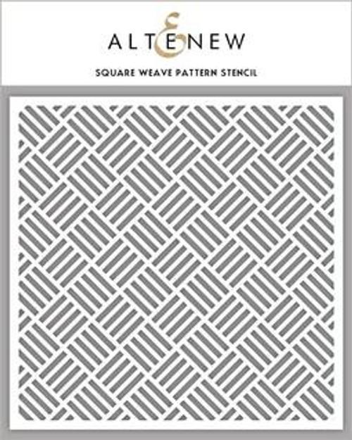 Altenew Square Weave Stencil