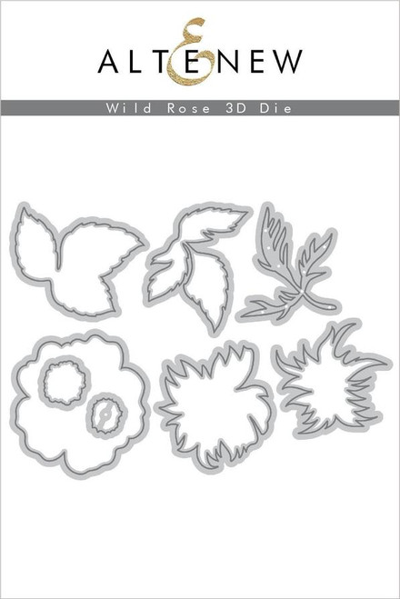 Altenew Wild Rose 3D die set