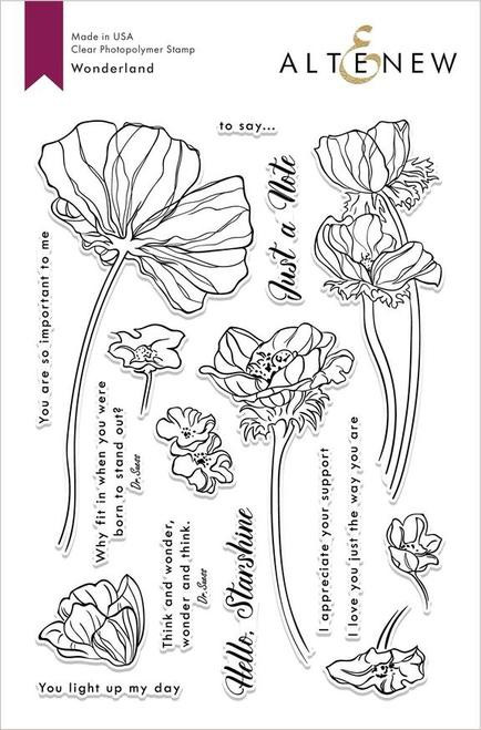Altenew Wonderland Stamp Set