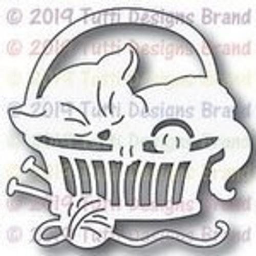 Tutti Designs die Cat in a Basket