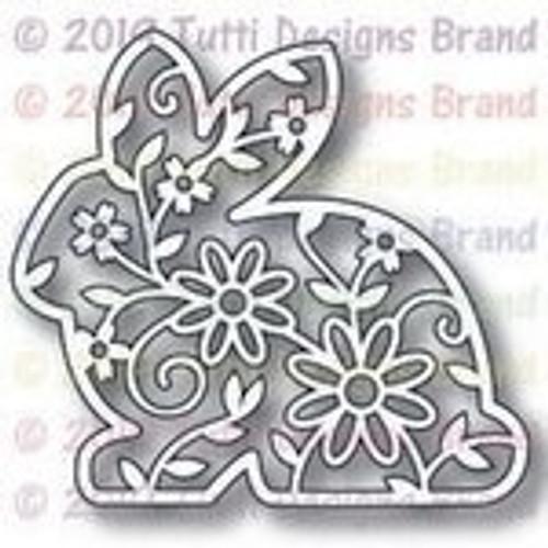 Tutti Designs die Floral Bunny