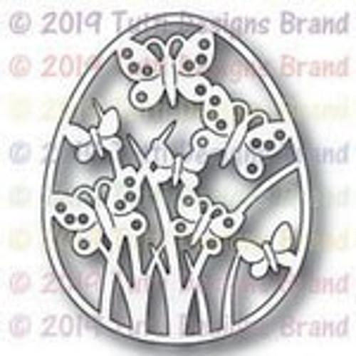 Tutti Designs die Butterfly Spring Egg