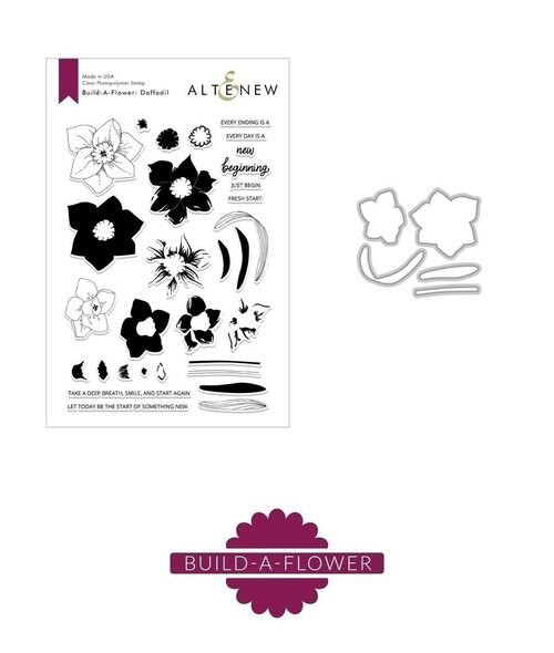 Altenew Build a Flower Daffodil Set