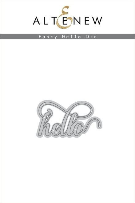 Altenew Fancy Hello die