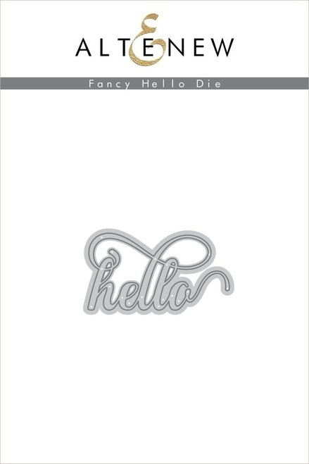 Altenew Fancy Hello die