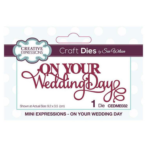 Mini Expressions On Your Wedding Day
