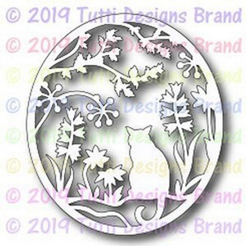 Tutti Designs die Cat in the Garden