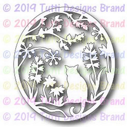 Tutti Designs Cat in the Garden