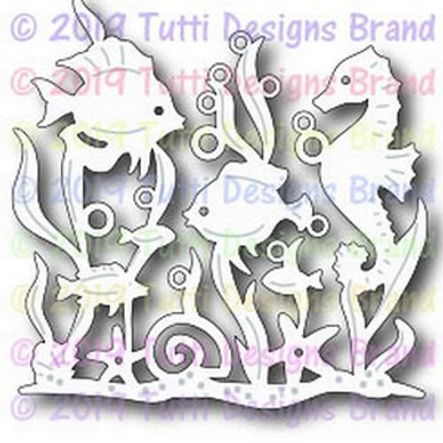 Tutti Designs Coral Reef Scene