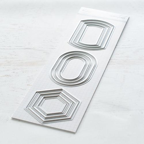 Pinkfresh Studio Basic Label Frames