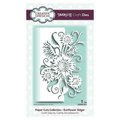 Creative Expressions Sunflower Edger