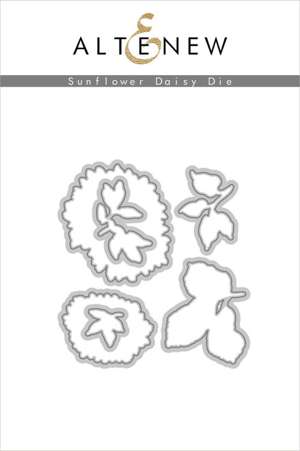 Altenew Sunflower Daisy die set