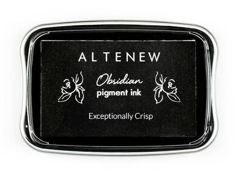 Altenew pigment ink Obsidian