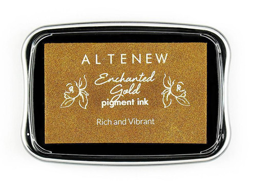 Altenew pigment ink Enchanted Gold