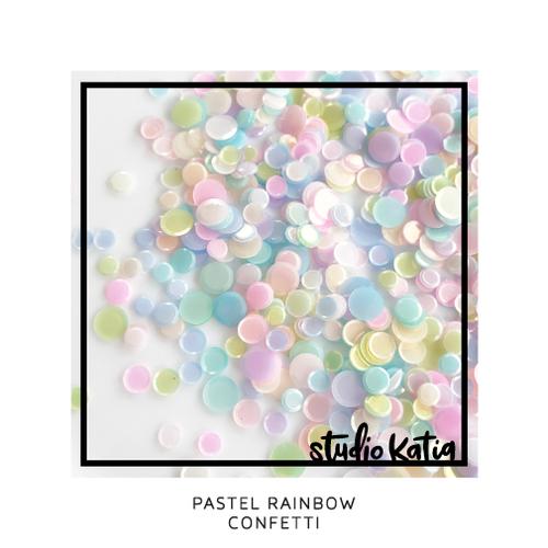 Studio Katia Confetti  Pastel Rainbow