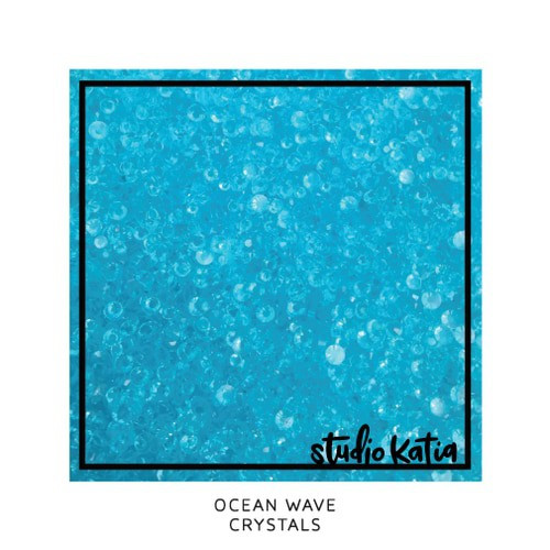 Studio Katia Crystal Embellishments Ocean Waves