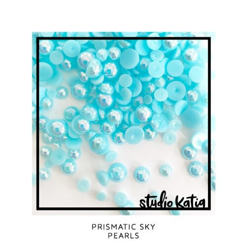 Studio Katia Pearl Embellishments Prismatic Sky