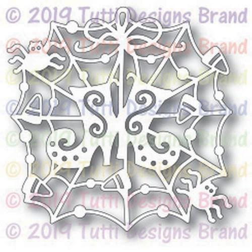 Tutti Designs die Halloween Spirit Web
