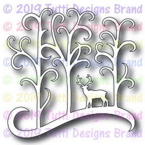 Tutti Designs die Deer in Forest