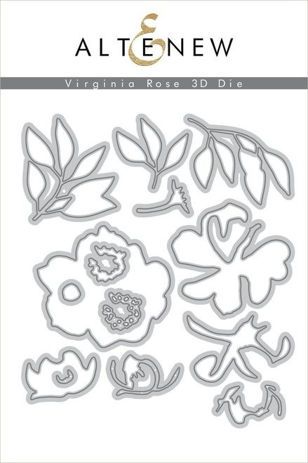 Altenew Virginia Rose 3D Die set