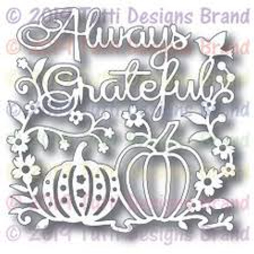 Tutti Designs Always Grateful