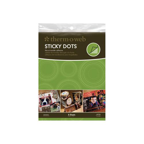 Thermoweb Stick Dots Sheets