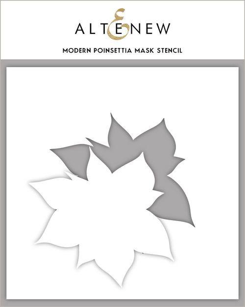 Altenew Modern Poinsettia Mask/Stencil