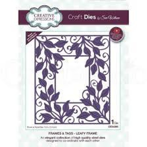 Creative Expressions Dies Leafy Frame