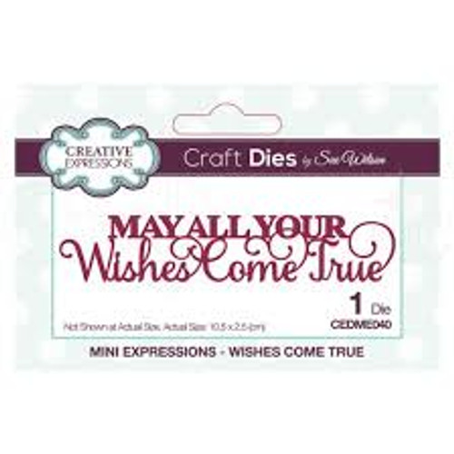 Creative Expressions May All Your Wishes Come True
