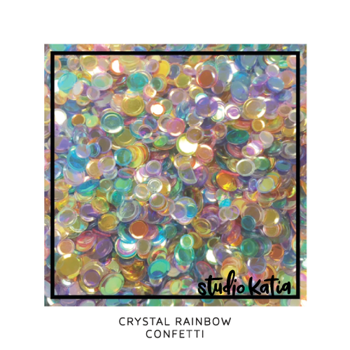 Studio Katia Confetti  Crystal Rainbow