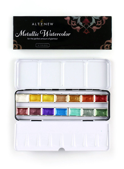 Altenew Metallic Watercolor Paints