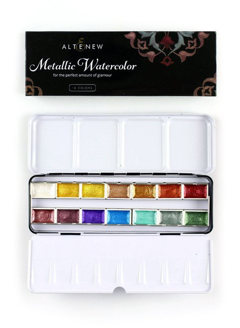 Altenew Metallic Watercolor 14 Pan Set