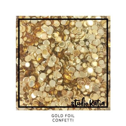 Studio Katia Confetti Gold Foil