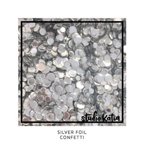 Studio Katia Confetti Silver Foil