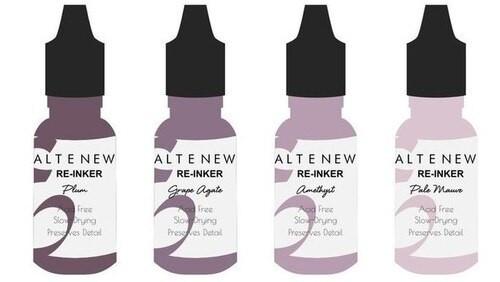 Altenew Dye Reinker Set Sugarplums